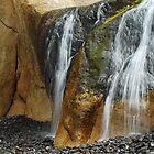 Oceanside Waterfall by Tori Snow