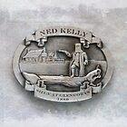 Ned Kelly Belt Buckle by Ricky Pfeiffer