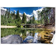 Yosemite River Poster