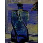 """Blue Bottle"" by Maj-Britt Simble"