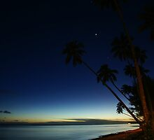 Rarotonga by Night by Adam Jones