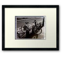 I've Got a Bike You Can Hire It If You Like Framed Print