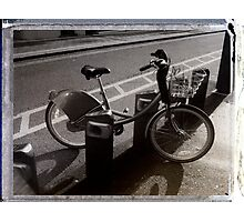 I've Got a Bike You Can Hire It If You Like Photographic Print