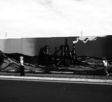 Mural, South Tyneside by scarlettart