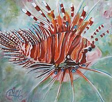 Lionfish by Clare Brooks