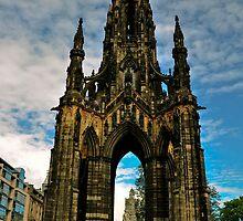 Scott Monument, Edinburgh, Scotland by Jim Wilson