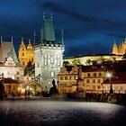 Charles Bridge, Prague by Stevacek