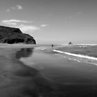 Piano Beach, New Zealand by ianheaney