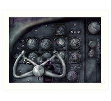 Air - The Cockpit Art Print