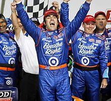 Dario wins! by racefan24