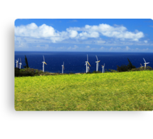 Green Energy Canvas Print