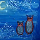 Owls on a Tree by Erin DuFrane-Woods