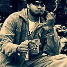 Smoking a Pipe by RajeevKashyap