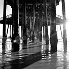 Shadows at the Pier by Cleber Design Photo