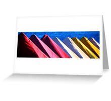 Colors of the Beach Greeting Card