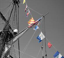 The Flag Ship by laruecherie