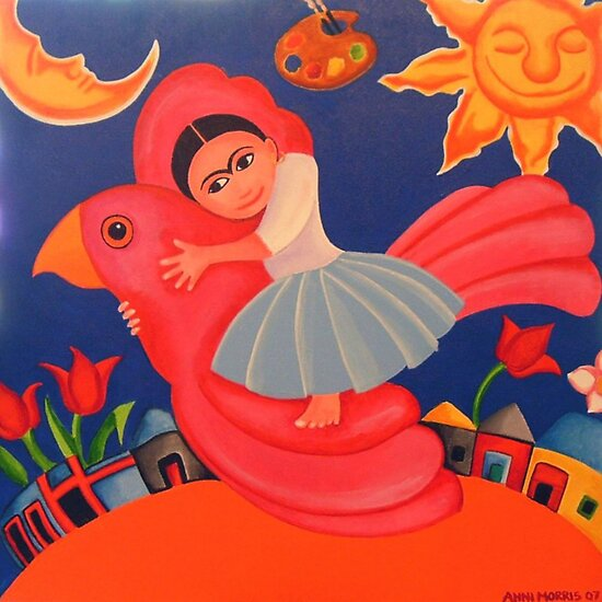 Frida's Flight by Anni Morris