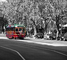 Melbourne Tram by Scott Lund