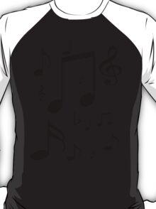 Music symbols and notes T-Shirt