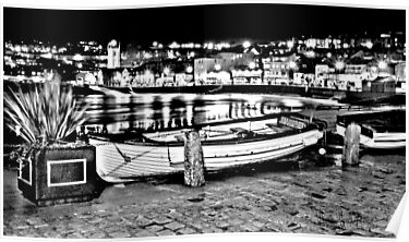 Boat in St. Ives by Anthony Hedger Photography