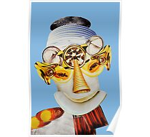 cone nose blue Poster