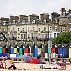 Beach Huts by katiehasheart