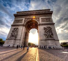 Arch of Triumph by pakin