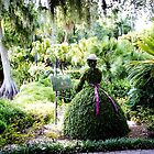Alone with my Canvas - Cypress Gardens Florida piece of history by Rick Short