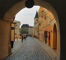 Passage in Passau by Béla Török