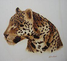 Leopardo by José Luis  San Román González