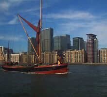 Thames Sailing Barge by rualexa