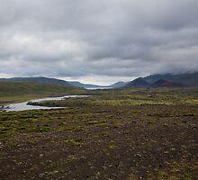 Iceland Landscape on the drive from Reykjavik to Stykkishólmur by hinomaru