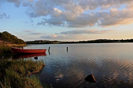 Boat at Rest Brackley Lake by Julesrules