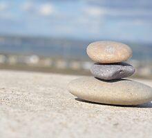 stone stack by dan  brighton