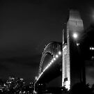 Sydney Harbour Bridge, Black &amp; White! by Bernie Stronner