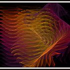 Wave Fractal by Debbie Robbins