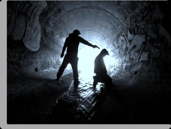 Underworld Figures by Jarrod Lees