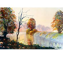 Autumn on the Ouse Photographic Print
