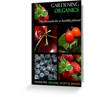 Book Cover: Organic Gardening Greeting Card