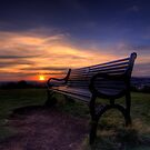 Sunset over Edinburgh by Marta69