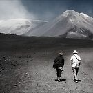 A Stroll On Mount Etna by Astrid Pardew