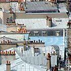 Urban Rooftops - Paris, France by ArtsGirl2