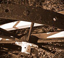 Old Wagon Wheel by Victor Sinden
