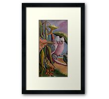 Amongst the Gum Nuts  Sold Framed Print