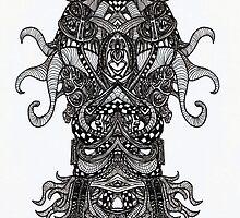 Cthulhu II by Arkhizon