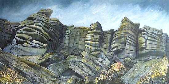 Stanage Edge, Derbyshire by Sue Nichol