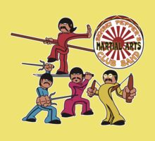 Sensei Pepper's Martial Arts Club Band - Attack Mode Kids Clothes