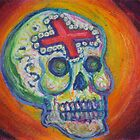 Glowing Calavera by Candace Byington