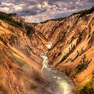 Yellowstone Canyon by Kenny Bowcutt