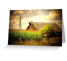 Grand Old Barn ! Greeting Card